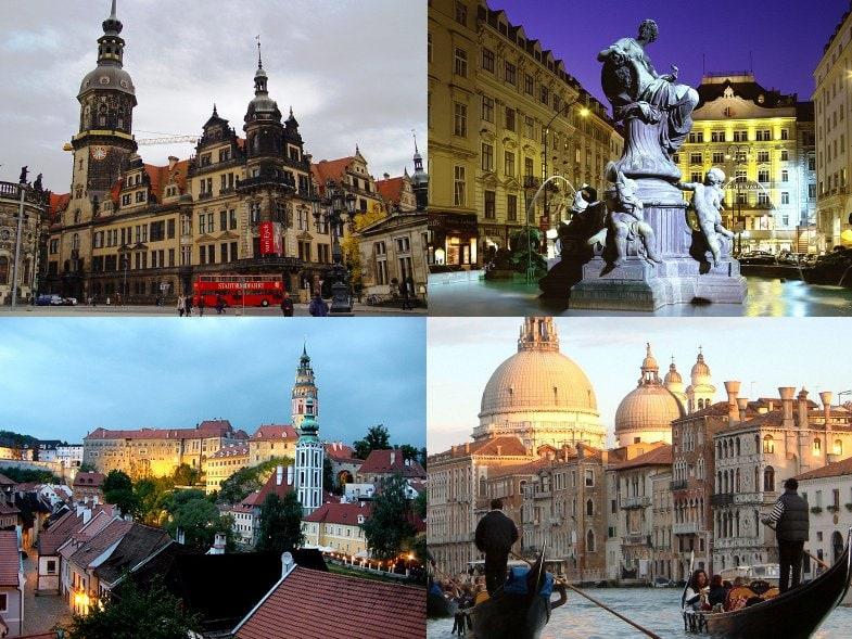 Автобусные туры по Европе, из Москвы 2 16 / стоимость